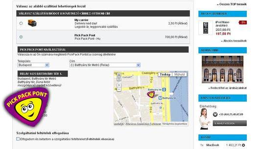 PicPackPont modul képernyőkép
